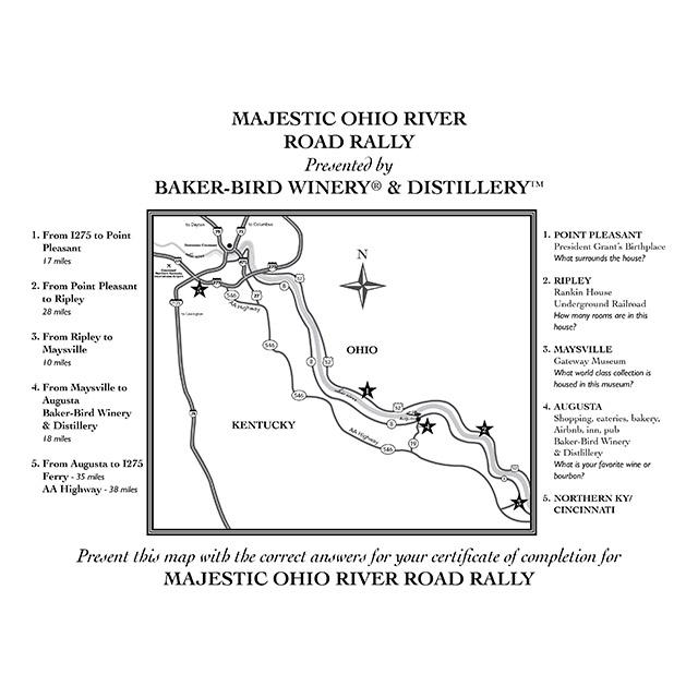 Majestic Ohio River Road Rally